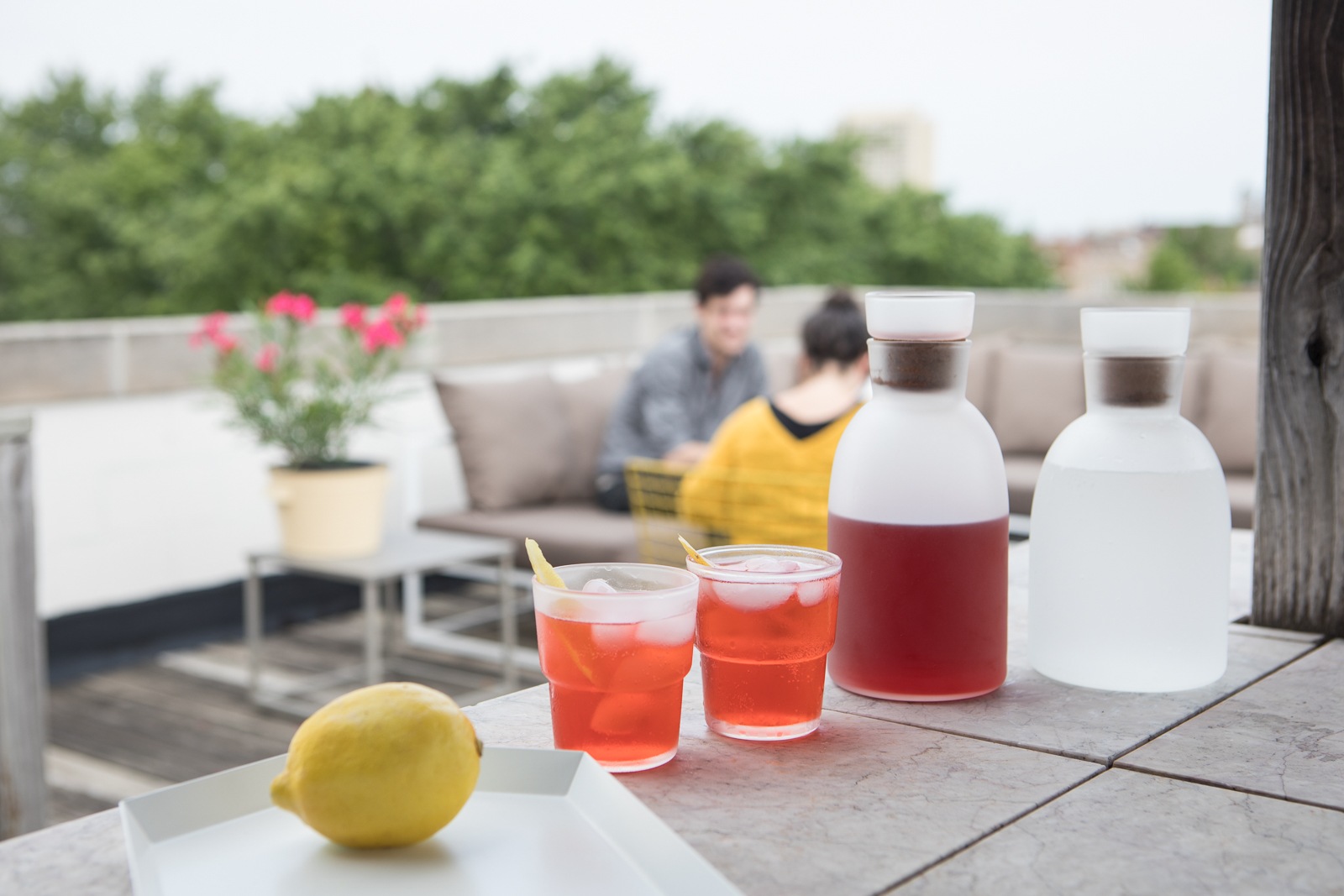 Make time for aperitivo time - Pair some Aperol or Campari with something bubbly and spend an afternoon with some good spritzes, tasty bites and great company.