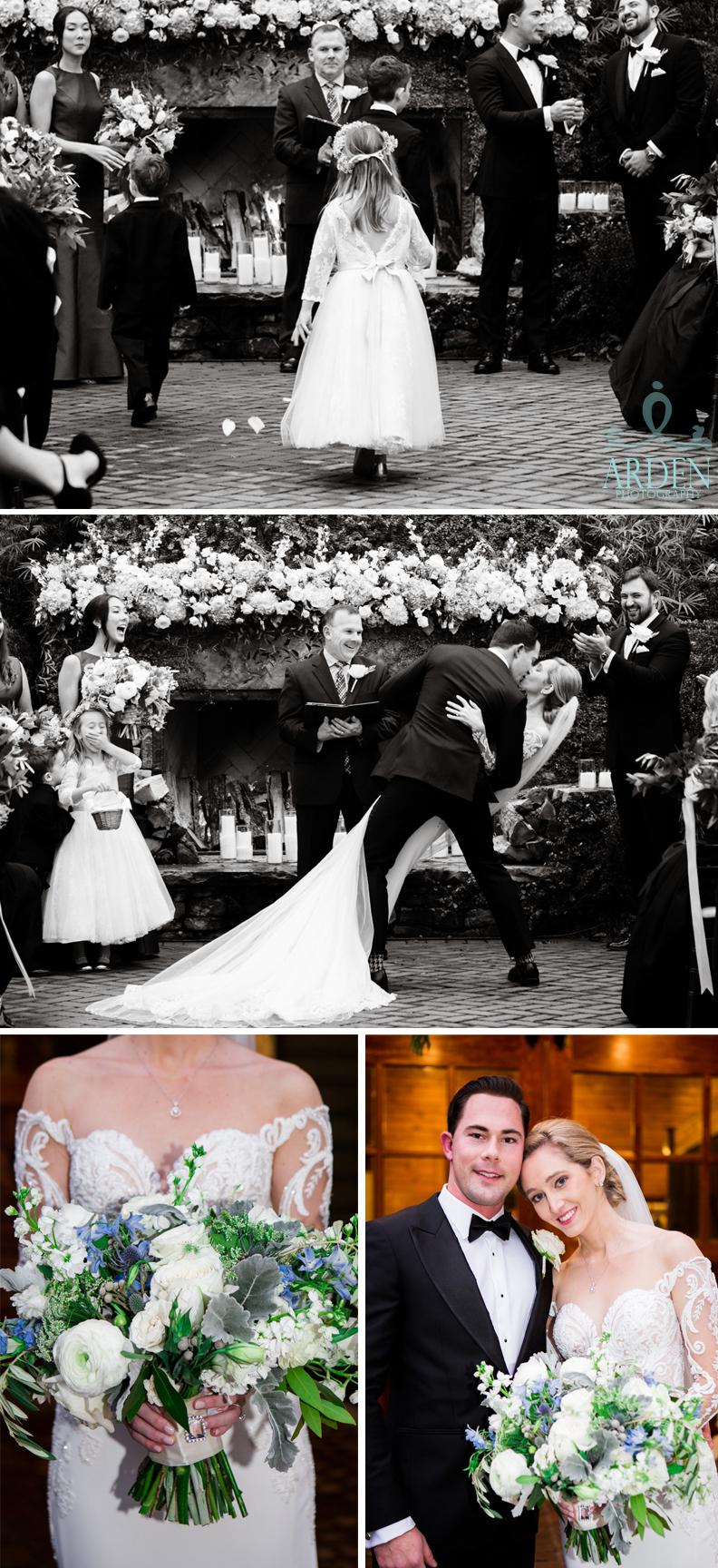 Winter wedding bliss.