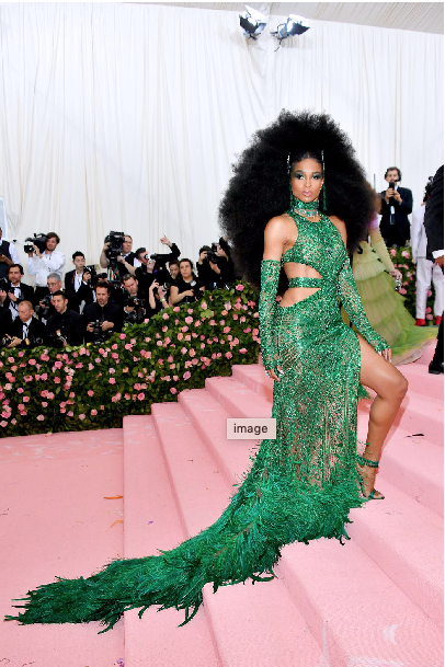 Ciara in Peter Dundas (inspired by Diana Ross)
