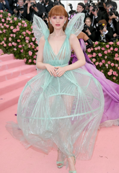 Madelaine Petsch in Jean Paul Gaultier