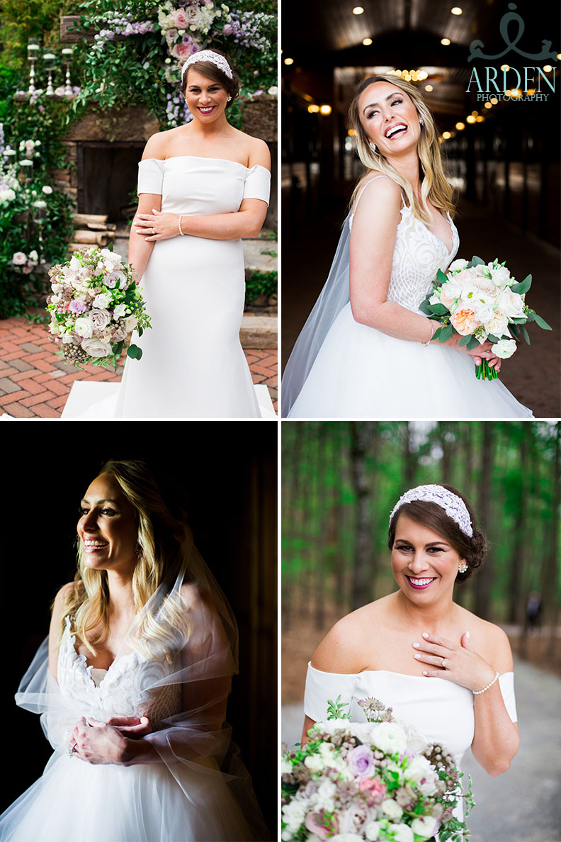Angles. Are. Everything. Look at how beautiful these brides are! Their posing is so elegant and flattering.