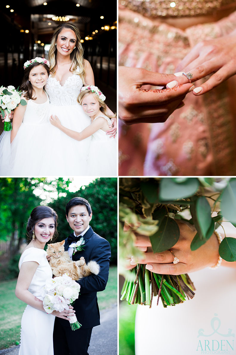 Special picture requests can include anything from special loved one group shots to fur baby photo-ops. Also, take a look at how beautiful these rings are! A cleaning goes a LONG way in photos.