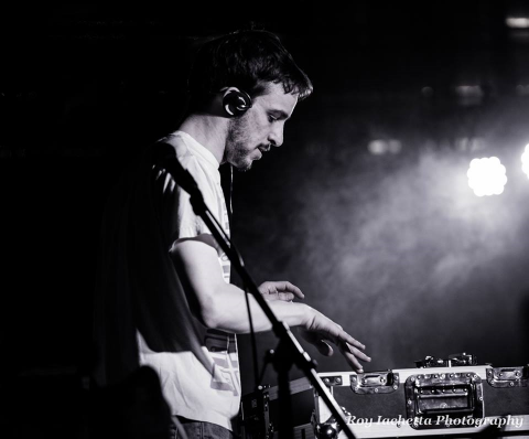 DJ Seith, from Soo York City, opens for A Tribe Called Red in May 2014. Photo credit: Roy Iachetta Photography