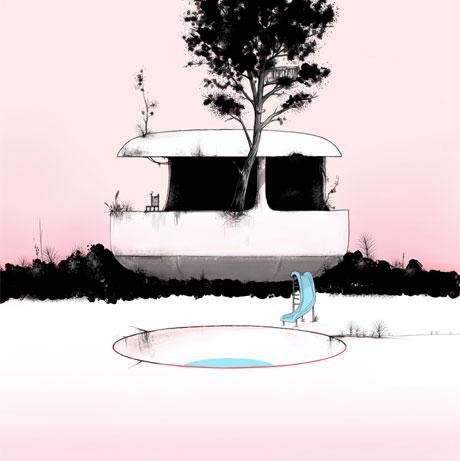 Dan Drouillard releases  UFO Houses  on October 28th