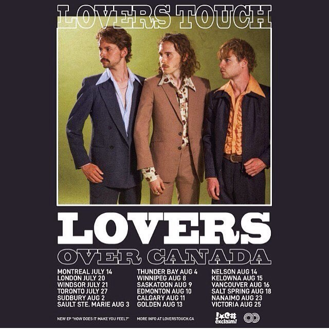 Attention: join us for some music outside on a summer night. These suave looking people are coming to SSM to rock on Friday. March St Stage. 7pm. with @great_chamberlain as well. @loverstouchband @jamroomrecords @exclaimdotca