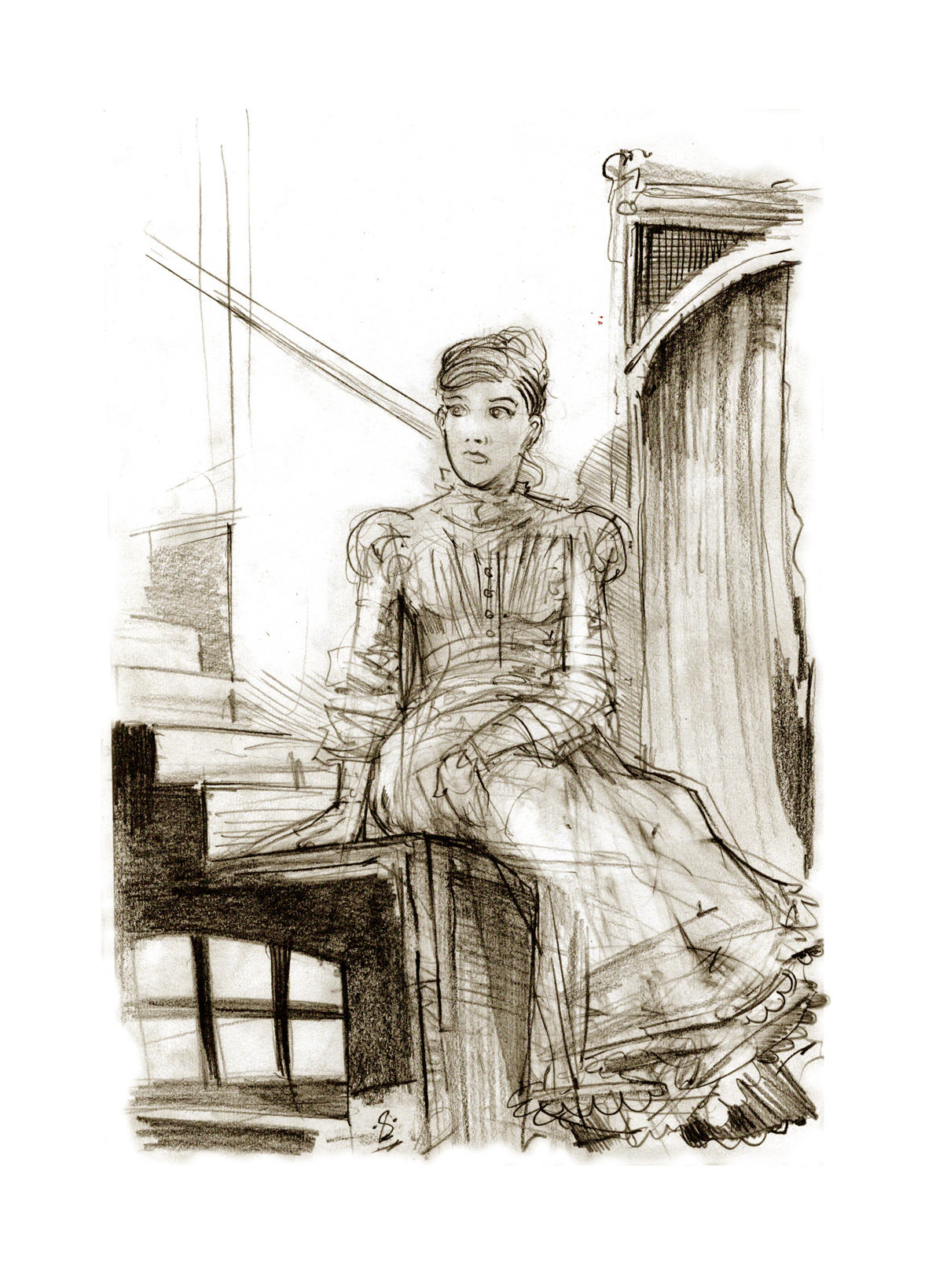 """Mrs Cratchit - From """"A Christmas Carol"""""""