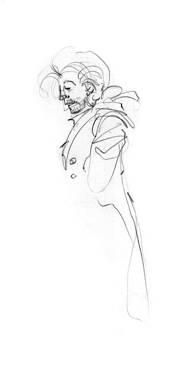 """Bob Cratchit sketch - From """"A Christmas Carol"""""""