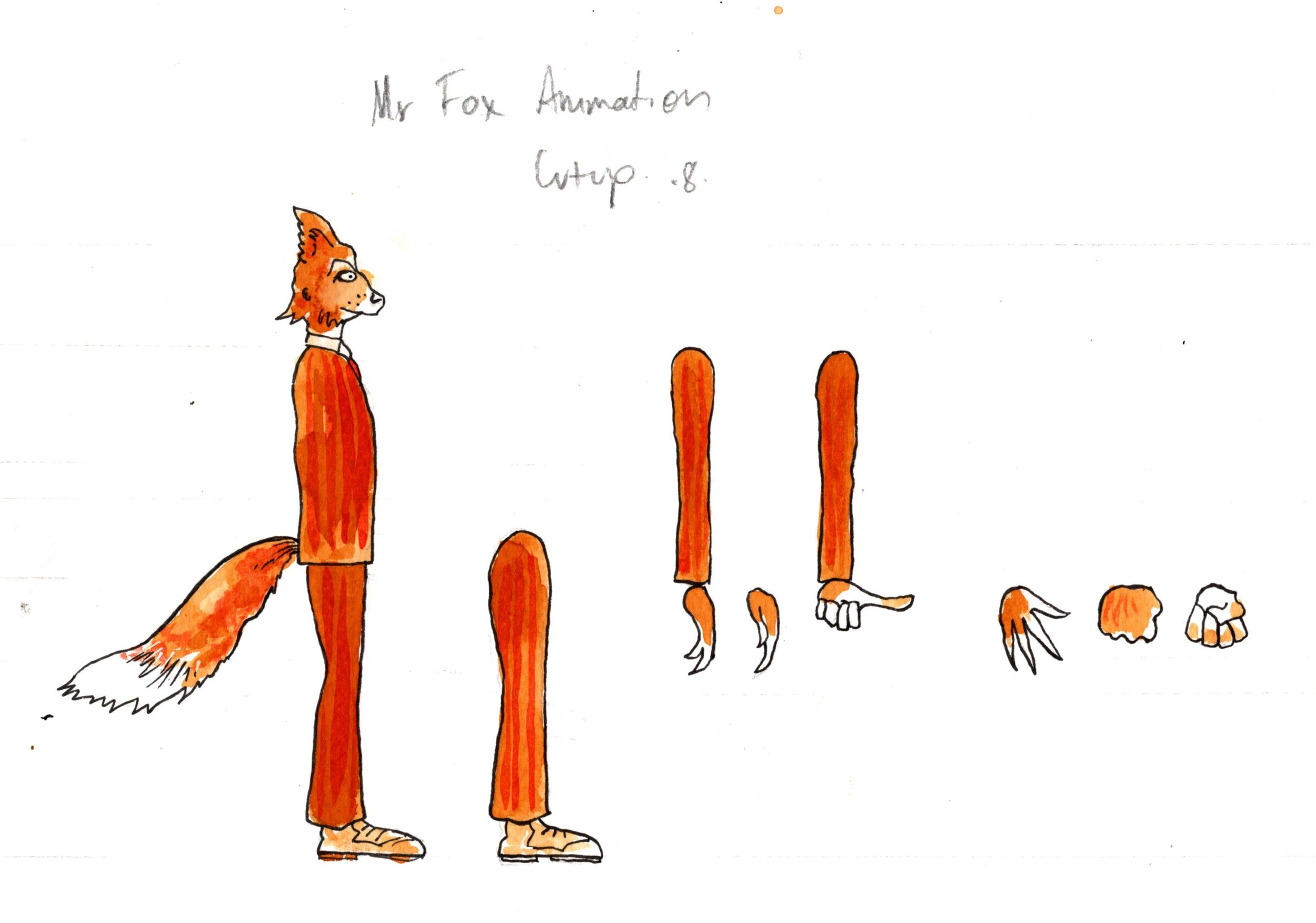 "Mr Fox Mannequin - From ""Fantastic Mr Fox"""