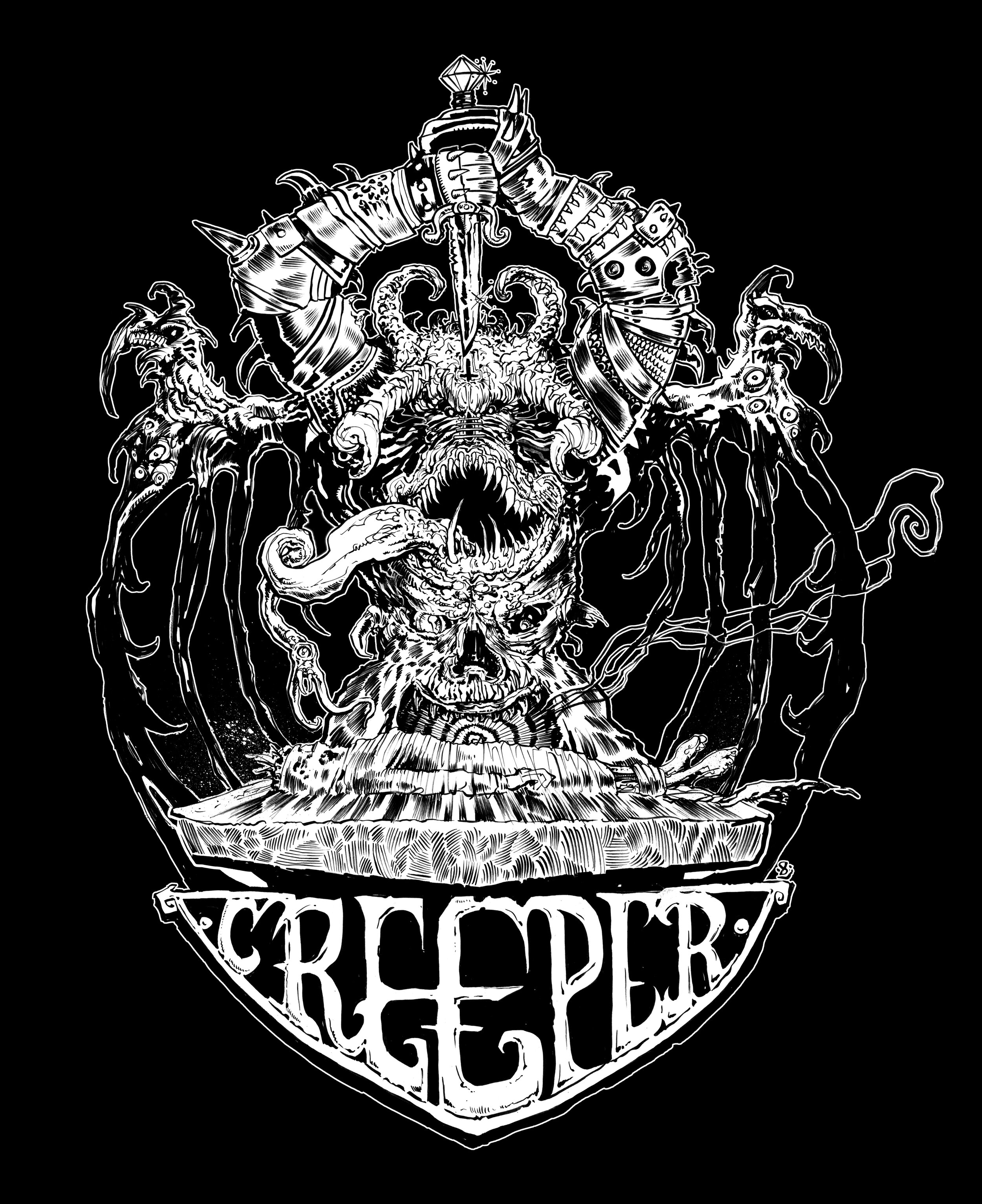 Creeper Magazine  shirt (2019)