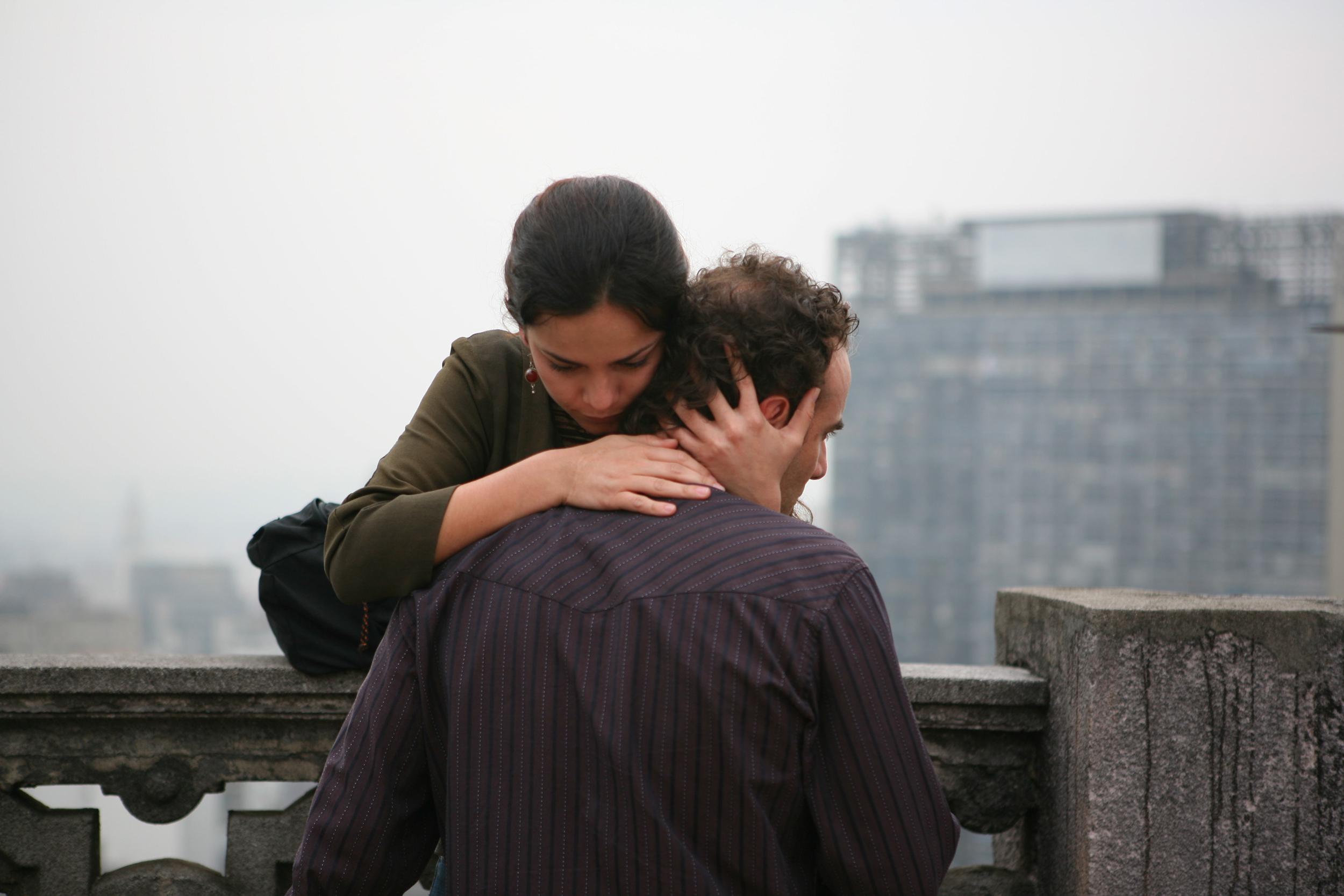 Alice Braga e Marco Ricca