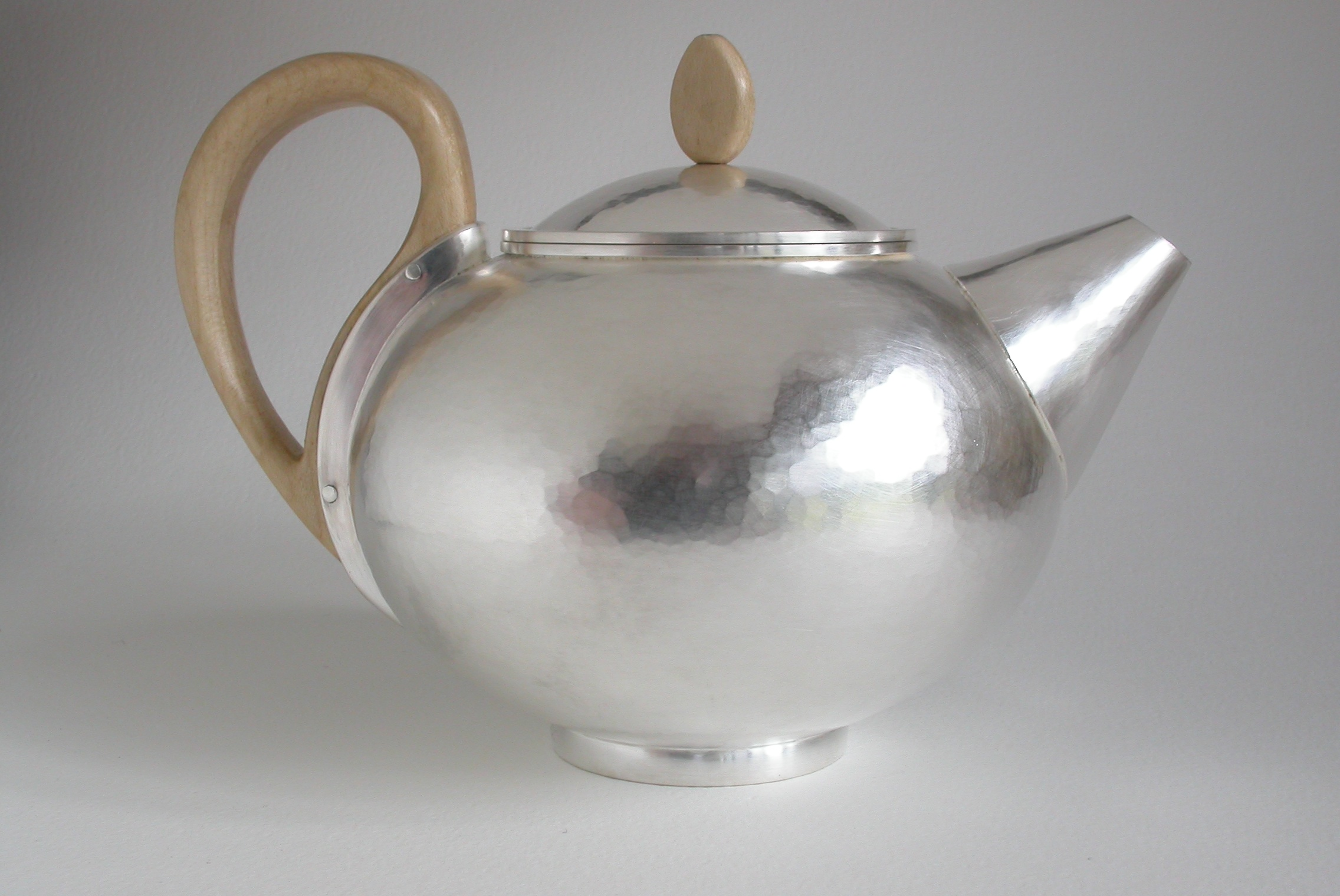 Silver Teapot.