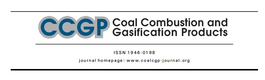 Paper published for the asian coal ash association, the american coal ash association and the Center for applied energy research at the University of Kentucky (CAER)