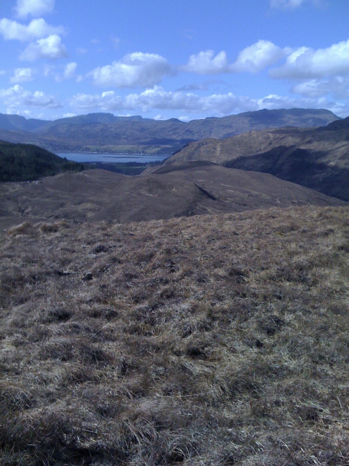 Bike - view back from Ben Dronaig track looking towards Loch Carron.jpg