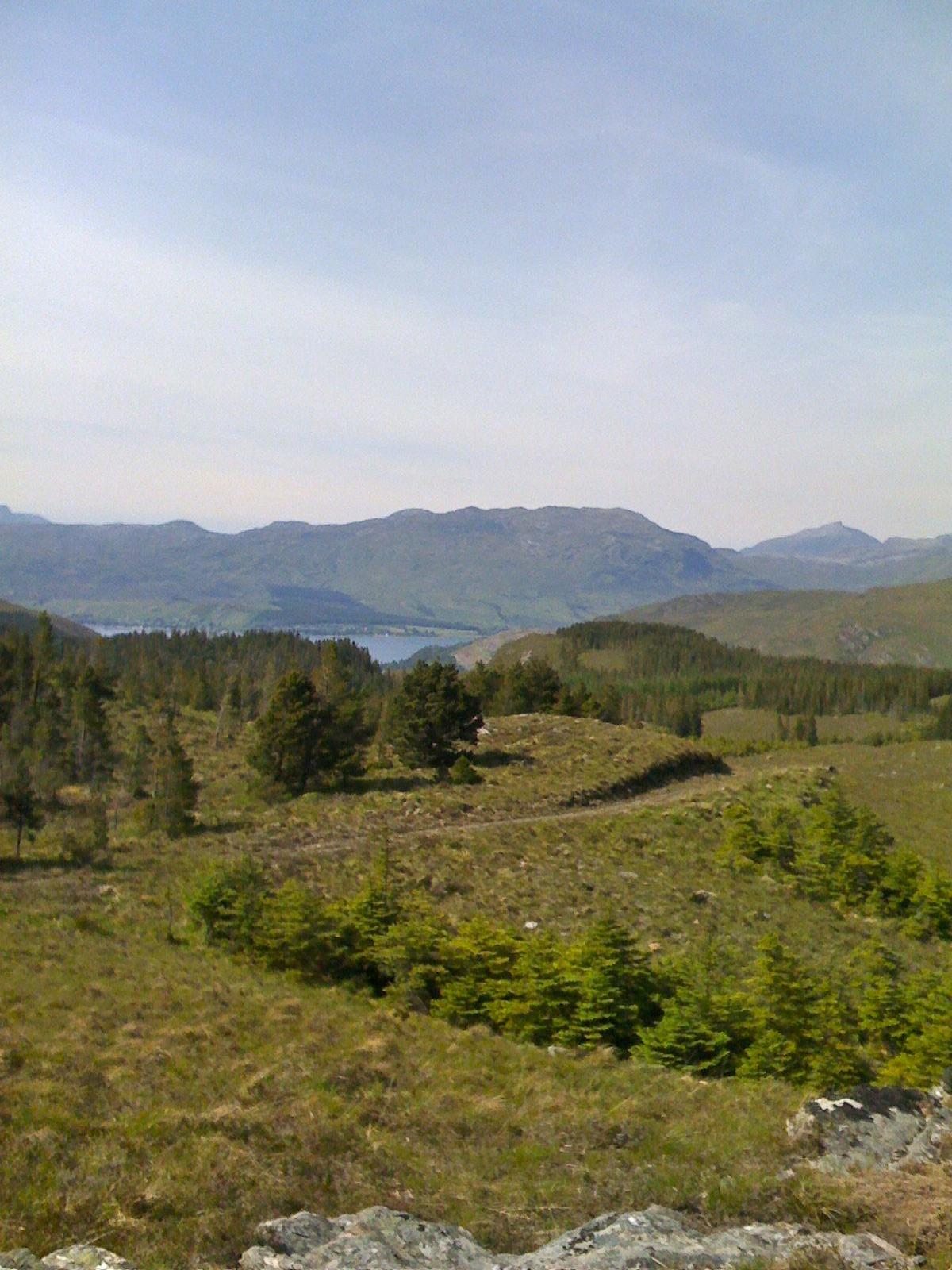 Bike - Loch Carron in distance from track to Ben Dronaig.jpg