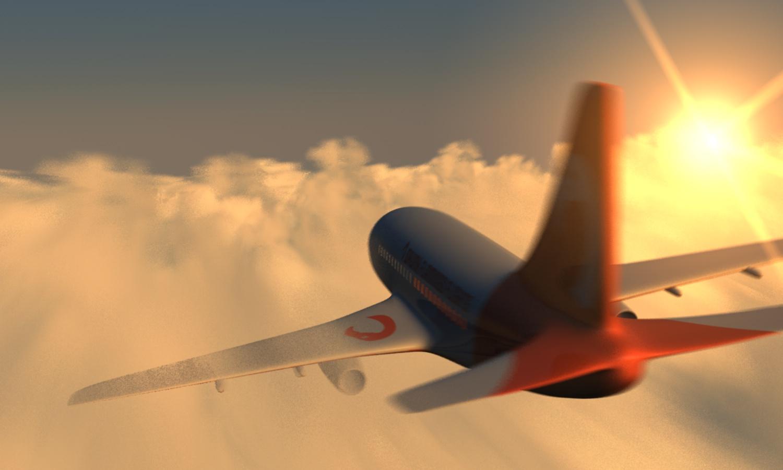 Laurens Vanlandschoote - vliegtuig