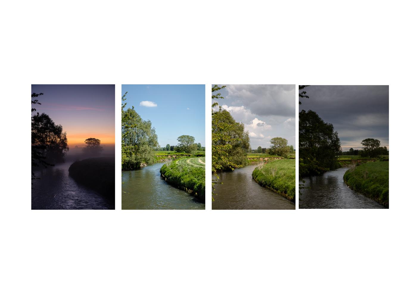 chris erven - landschap met verschillende atmosferen