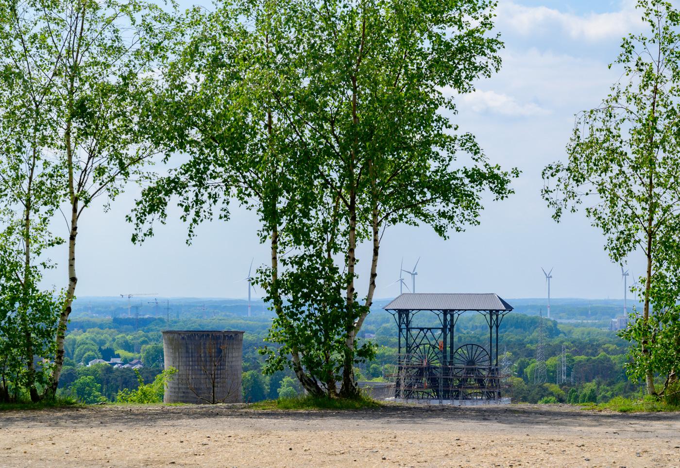 Mia Vleminckx - landschap aan de rand van de urbanisatie