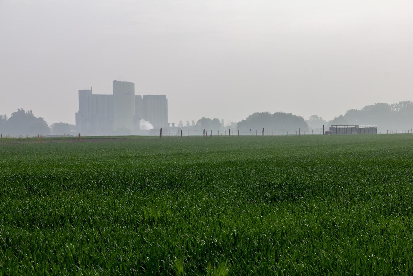 benedicte craeye - landschap aan de rand van de rand urbanisatie
