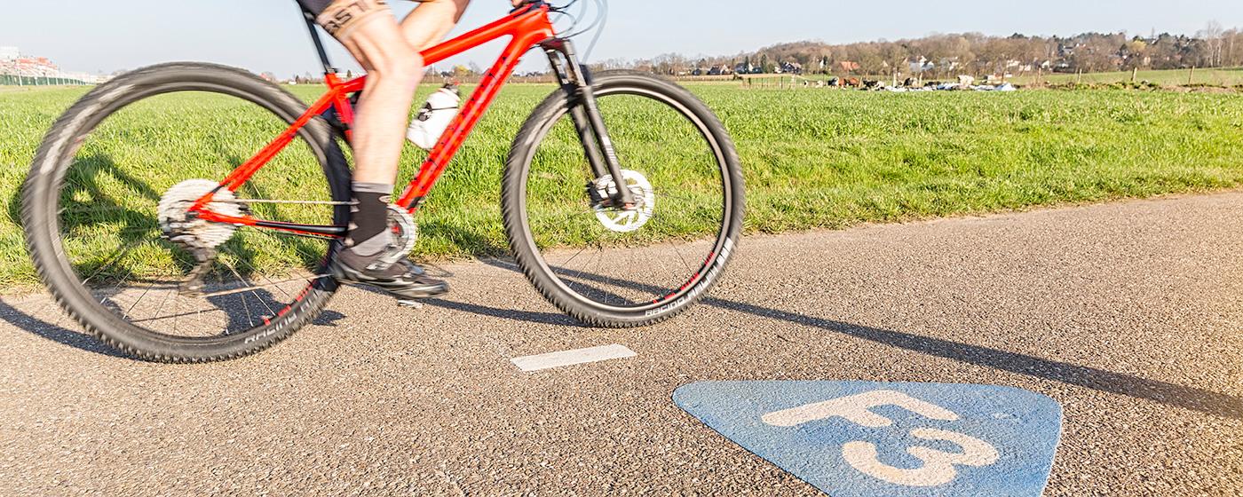 Martine De Flander - advertentie fietsroutes