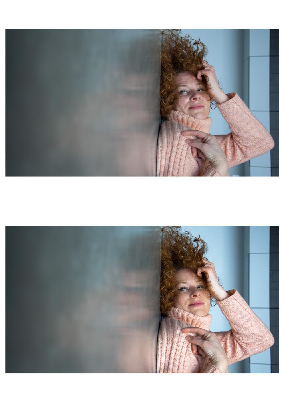 Anne Scheers - Portret duo
