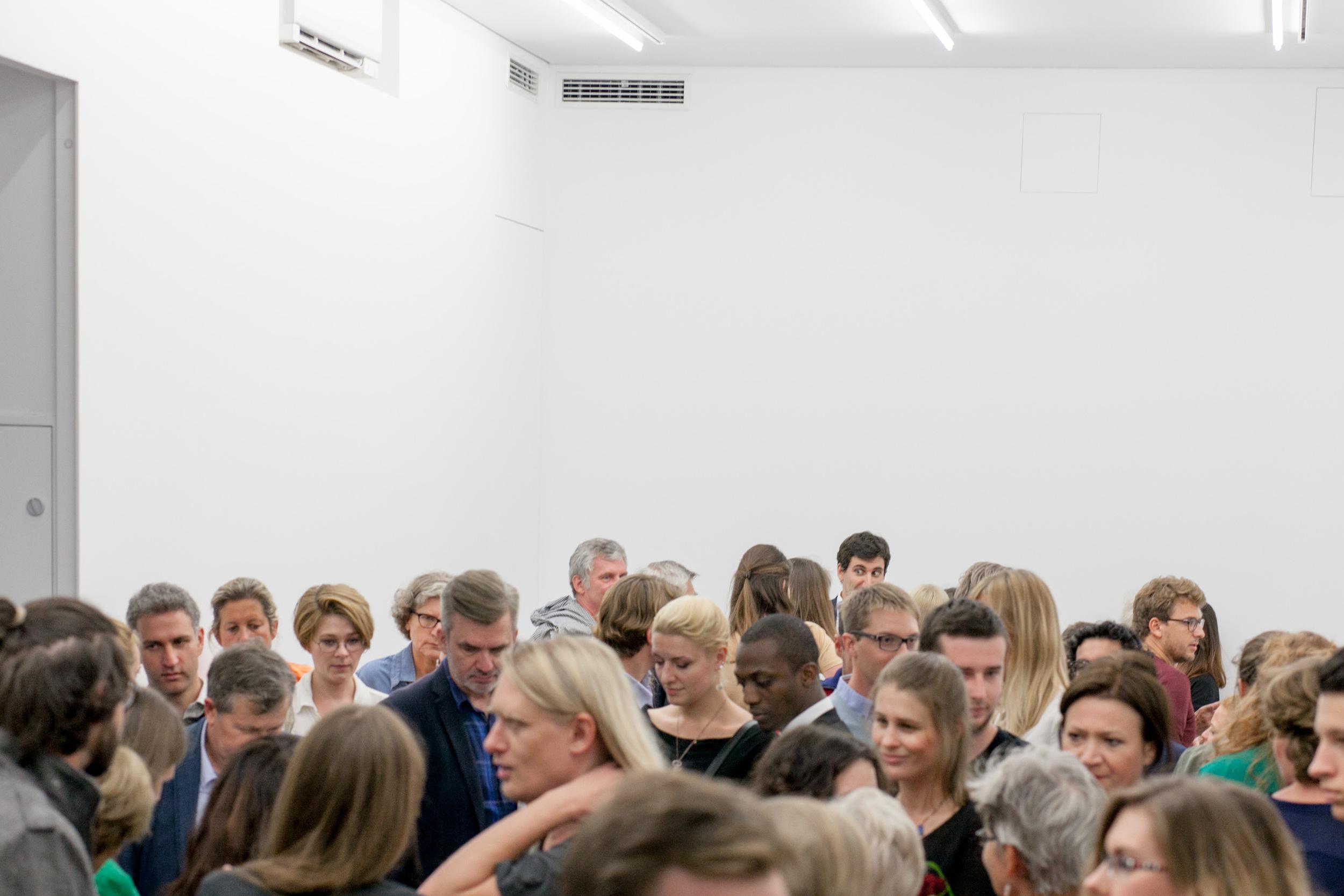 Opening of the exhibition (photo: Wojtek Moskwa)