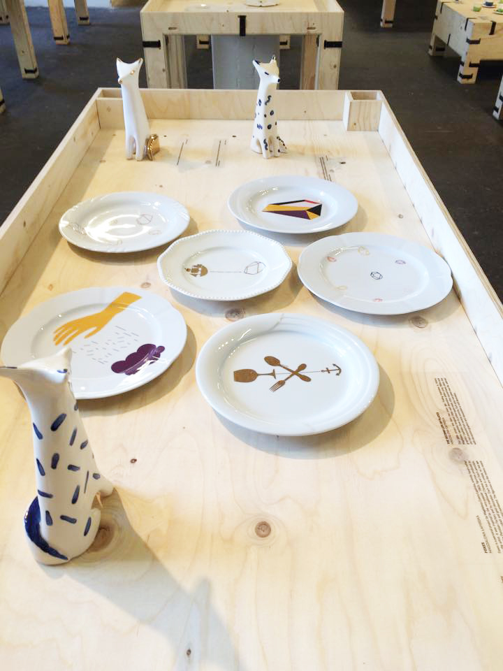 Foxes  and  Second Life of Plates  on London Design Festival, 2015