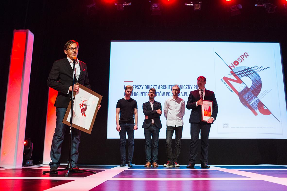 The awards ceremony