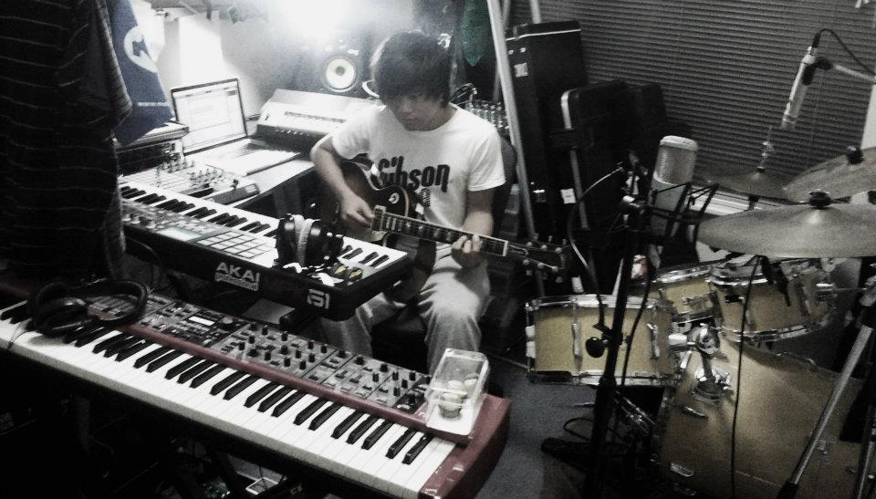 At home studio