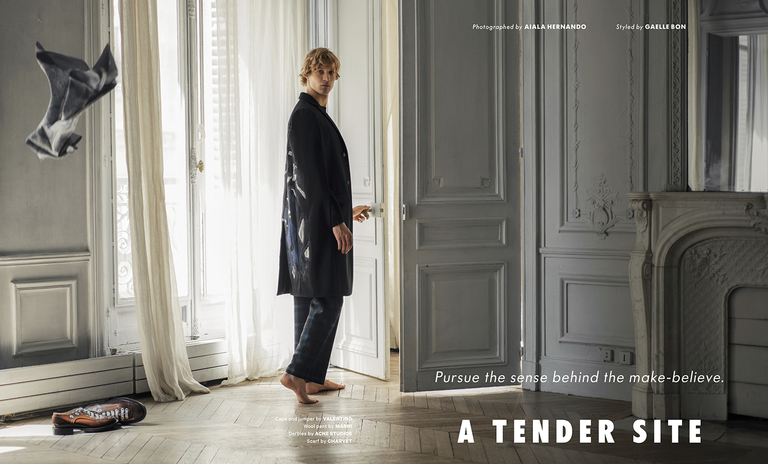 Sven de Vries for Essential Homme by Aiala Hernando