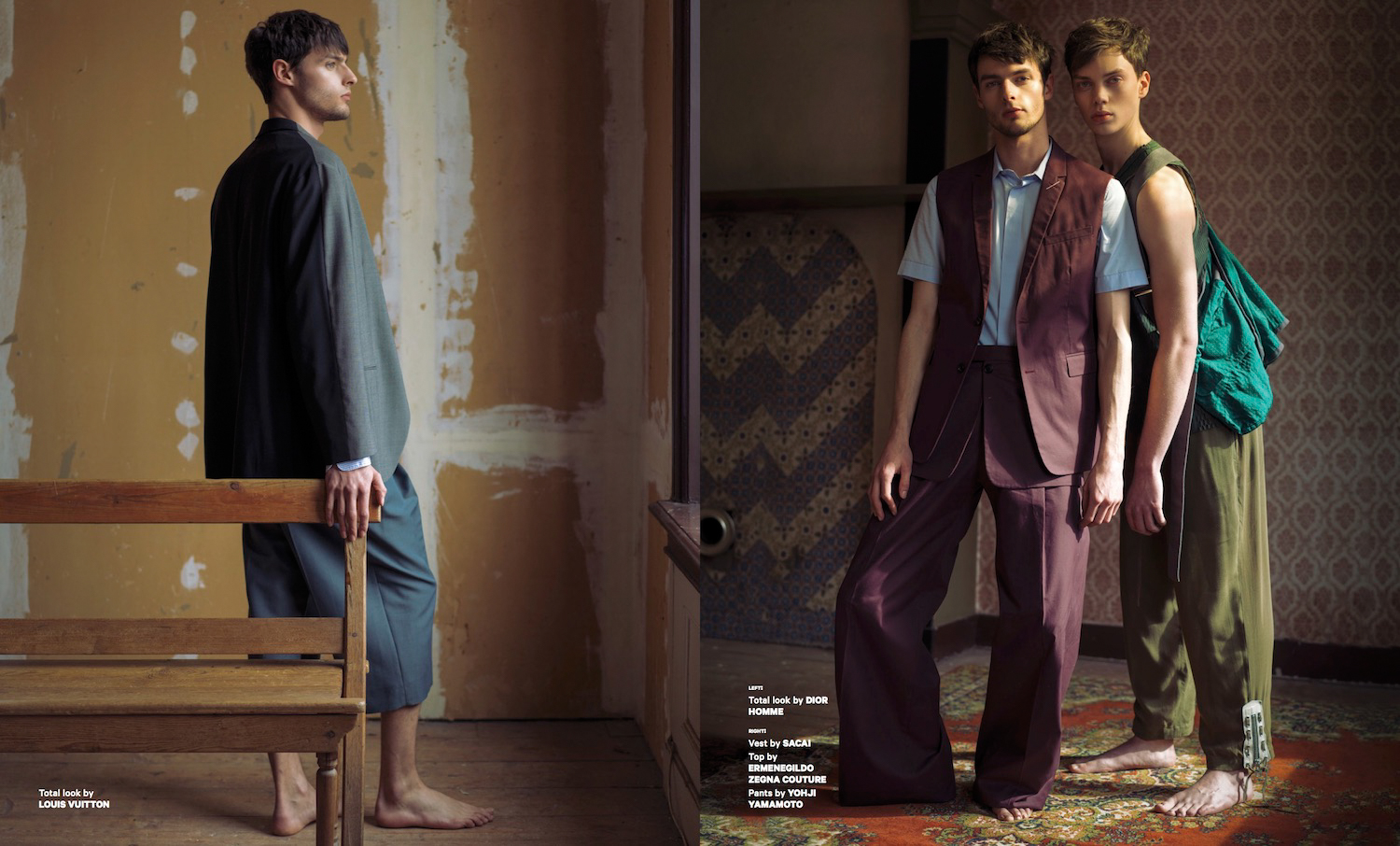 Aiala Hernando for Essential Homme