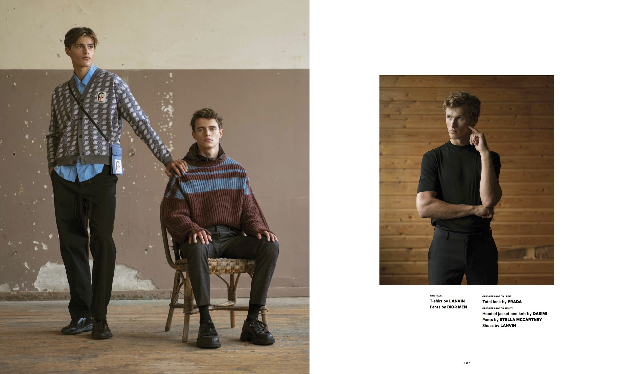 Photography by Aiala Hernando for Essential Homme