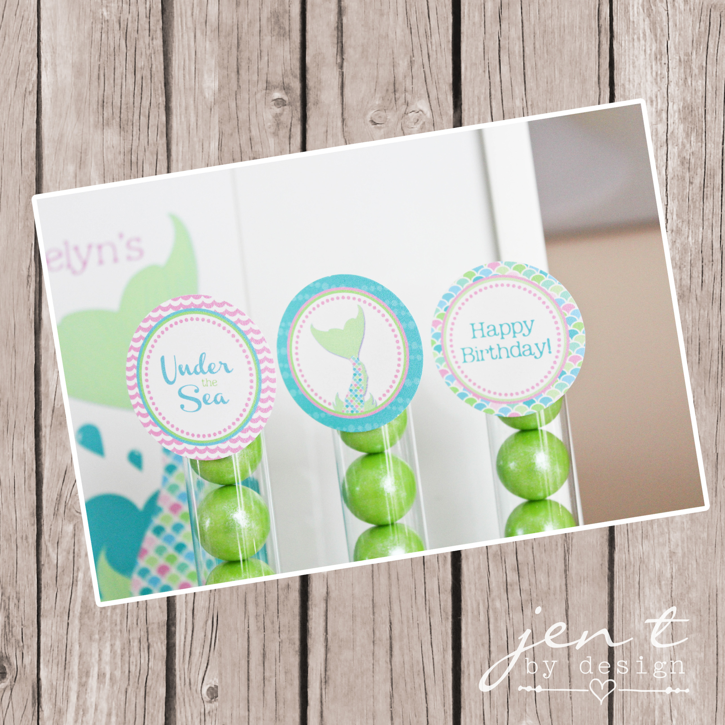 Mermaid Party Toppers - mounted and watermarked copy.jpg