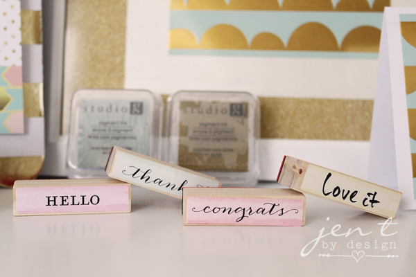 Note Card Stamps