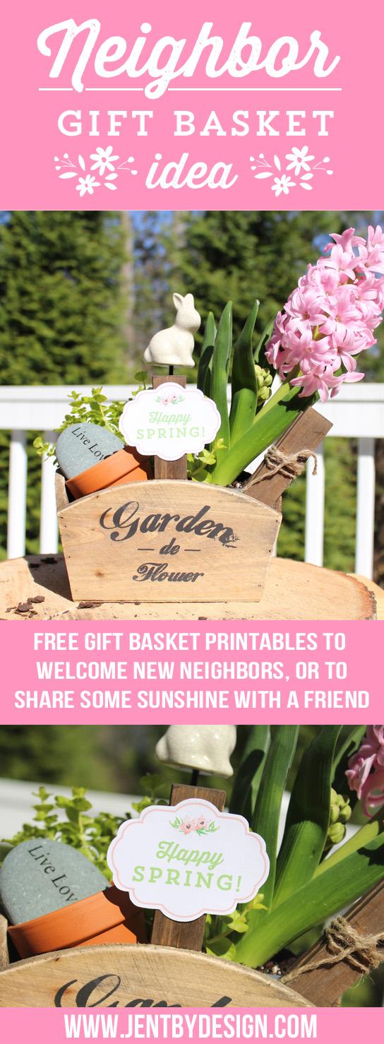 Neighbor Gift Basket Idea