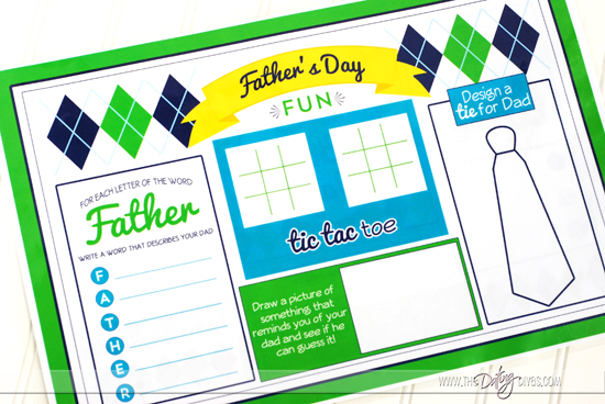 Fun Father's Day Activity