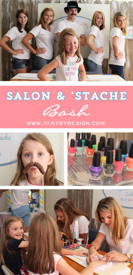 Salon Birthday Party Ideas - JenTbyDesign.com