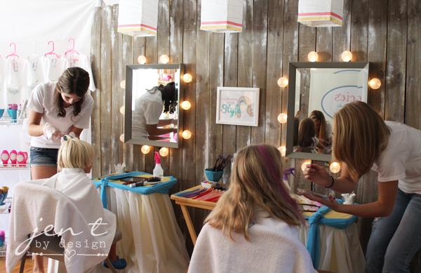 Salon Birthday Party - Hair Station