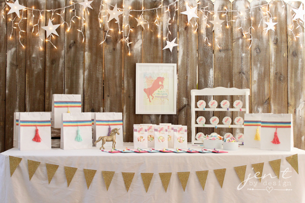 Unicorn Birthday Party Ideas - Unicorn Party Favors