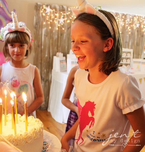 Unicorn Birthday Party Ideas - JenTbyDesign.com