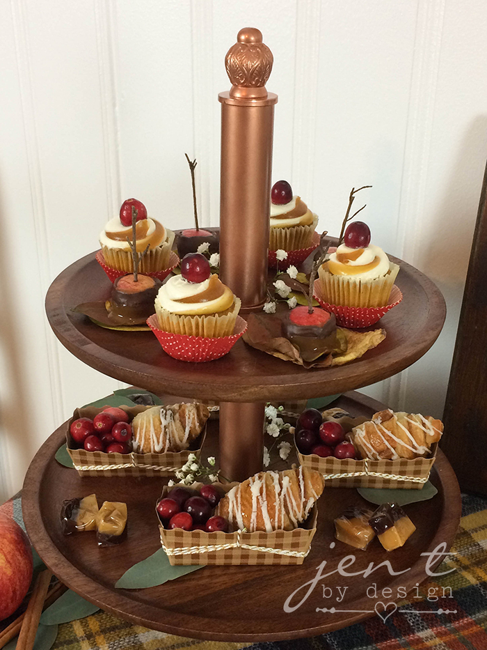 Cider and Sweets - Thanksgiving Dessert Table