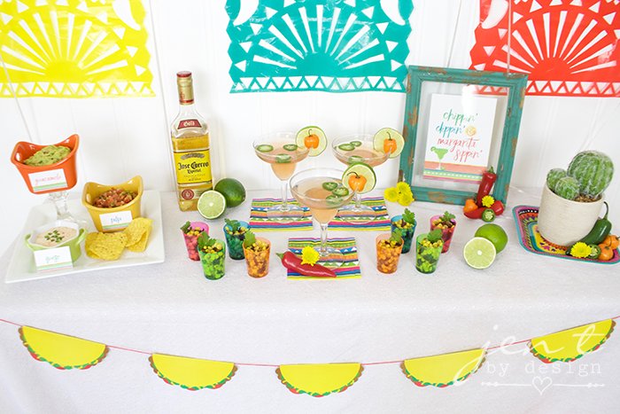 Margarita Fiesta - Fiesta Party Ideas - JenTbyDesign