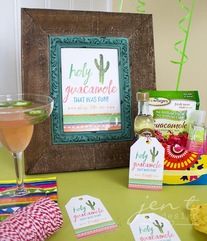 Margarita Fiesta - Fiesta Party Favor Ideas - JenTbyDesign