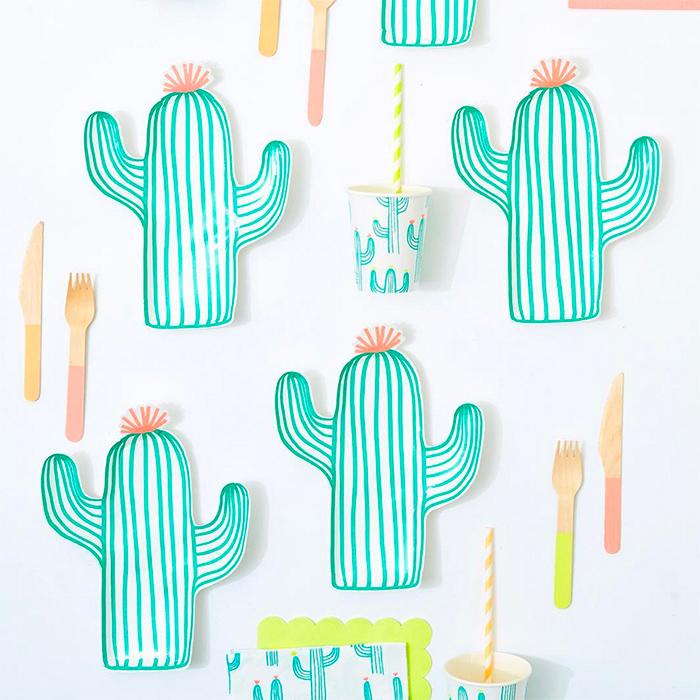 Cactus Plates and Party Goods - Meri Meri