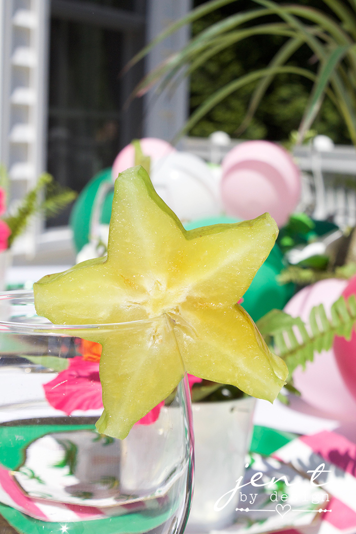 Tropical Bridal Shower Ideas - Palm Trees and Paradise