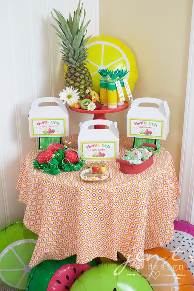 Tutti Frutti Party Favors - Jen T by Design