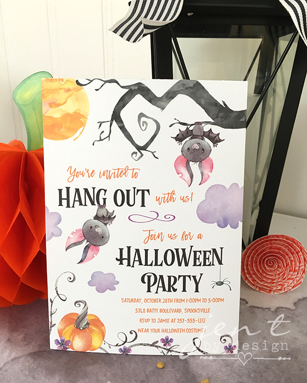 Bat Halloween Party Invitation - Jen T by Design.jpg