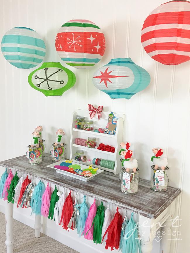 Kids Ornament Decorating Party - Llama Deck the Halls 4.jpg