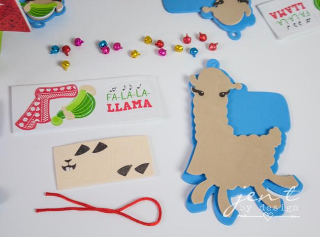 Kids Ornament Decorating Party - Llama Deck the Halls 8.jpg