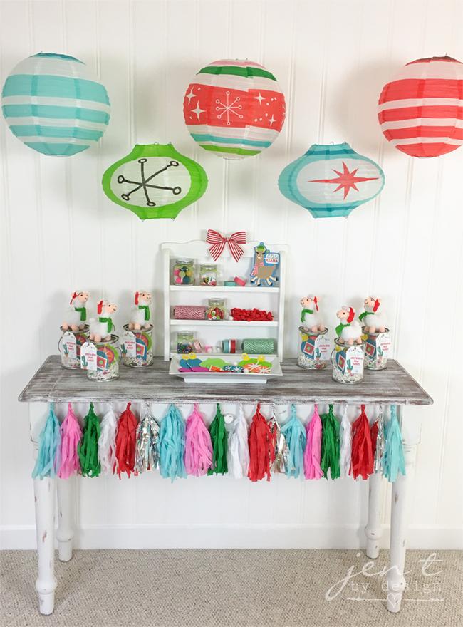 Kids Ornament Decorating Party - Llama Deck the Halls 2.jpg