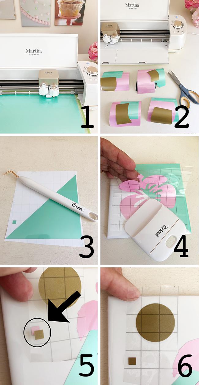 Diy Tile Coasters With Cricut Permanent Vinyl Jen T By Design